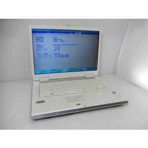 [中古] A4ノートパソコン 富士通 FMV-BIBLO NF50U FMVNF50UG [Celeron-M410/1GB-MEM/100GB-HDD/DVDスーパーマルチ/15.4inchW]|akiba-yushop