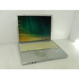 [中古] B5モバイルノート Panasonic Let'sNote CF-W8QWDAAS [Core2Duo-U9400/2GB-MEM/160GB-HDD/12.1inch/無線LAN/WindowsVista] akiba-yushop