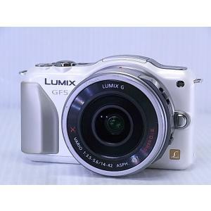 [中古] デジタル一眼カメラ Panasonic LUMIX DMC-GF5WA-W ダブルレンズキット シェルホワイト akiba-yushop