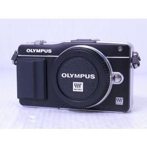 [中古] ミラーレス一眼カメラ OLYMPUS PEN mini E-PM2 ボディー ブラック akiba-yushop