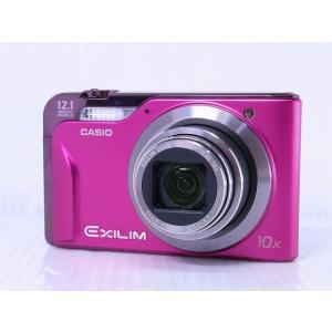 [中古] コンパクトデジタルカメラ CASIO EXILIM Hi-ZOOM EX-H10 ピンク akiba-yushop