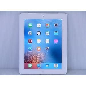 [中古] iOSタブレット au Apple iPad 第4世代 Wi-Fi Cellular 16GB White モデルA1460 MD525J/A