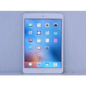 [中古] iOSタブレット au Apple iPad mini 2 Wi-Fi + Cellular 16GB Silver モデルA1490 ME814JA/A
