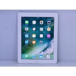 [中古] iOSタブレット Apple iPad 第4世代 Wi-Fi 16GB White モデルA1458 MD513J/A