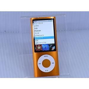 [中古] デジタルメディアプレーヤー Apple iPod nano 第5世代 8GB オレンジ MC046J/A