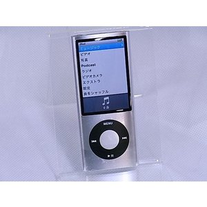 [中古] デジタルメディアプレーヤー Apple iPod nano 第5世代 8GB シルバー MC027J/A