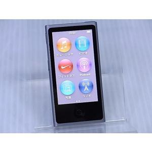 [中古] デジタルメディアプレーヤー Apple iPod nano 第7世代 16GB スペースグレイ ME971J/A