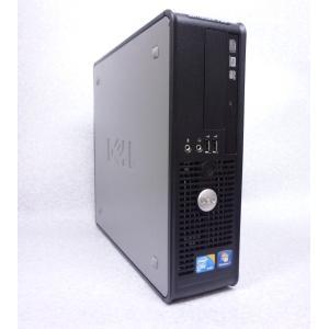 大人気 DELLのOptiplexシリーズ Core2Duo搭載WindowsXPモデル  ・メーカ...