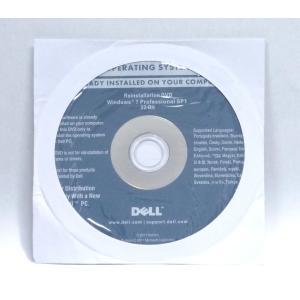 DELL Windows7 Pro SP1 32bit 再セットアップディスク|akibahobby