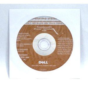DELL Windows7 Ultimate SP1 32bit 再セットアップディスク|akibahobby