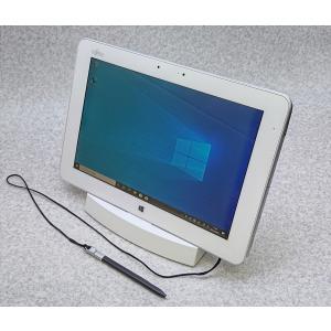 富士通 防水タブレットPC Arrows Tab Q584/K Windows10Pro64bit 専用ドック付 akibahobby