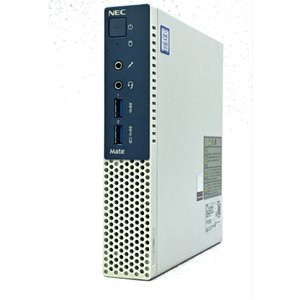 ゴルフボールより薄い NEC ウルトラ省スペース MC-1 起動10秒NVMe M.2 SSD搭載 送料無料 akibahobby