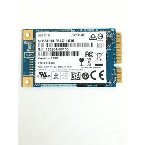 mSATA SSD 64GB SanDisk SD6SF1M-064G-1016 バルク|akibahobby