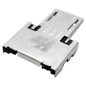【SSA】USB microB(オス)-USB A(メス)microUSBホスト(OTG)変換アダプタ【SMCM-OTG】|akibahobby