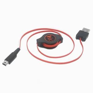 【SSA】New3DS 3DS DSi LL 用 巻取り式USB充電ケーブル 70cm 【SU2-3DSR70R】|akibahobby