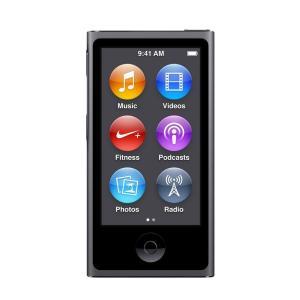 新品・未開封 Apple アップル 第7世代 iPod nano MKN52J/A スペースグレイ ...