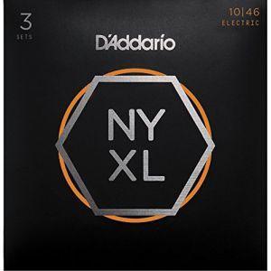 DADDARIO 0019954168278 【5個セット】D'Addario / NYXL1046-3P 10-46 NYXL エレキギター弦 ダダリオの商品画像 ナビ