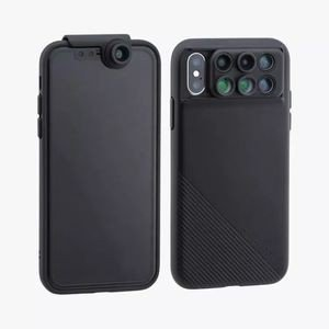 ShiftCam 2.0 6-in-1 Travel Lens Set Front-Facing Wide Angle Lens with Adaptor iPhone X|akibaoo