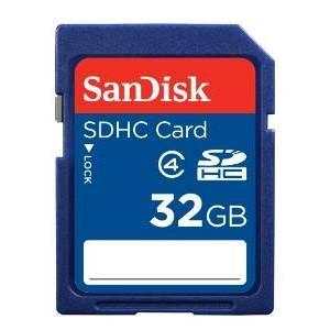 サンディスク SanDisk製SDHC カード 32GB容量:32GBクラス:4保証:初期不良2週間
