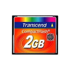 【メール便選択可】トランセンド CF 2GB TS2GCF133 133倍速 20MB/s コンパクトフラッシュ メモリ akibaoo