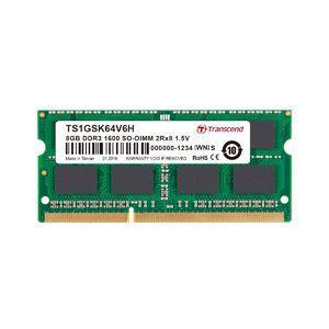 【SO DIMM ノートPC用】【DDR3-1600 PC3-12800】【8GB】TS1GSK64V6H|akibaoo