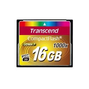 【メール便選択可】トランセンド TS16GCF1000 CF 16GB 1000倍速 コンパクトフラッシュ Transcend akibaoo