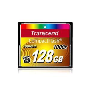 【メール便選択可】トランセンド TS128GCF1000 CF 128GB 1000倍速 コンパクトフラッシュ Transcend akibaoo