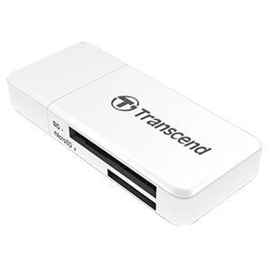 【メール便選択可】トランセンド USB3.0 カードリーダーライター TS-RDF5W ホワイト|akibaoo
