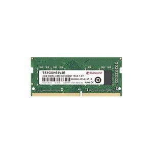 【メール便選択可】トランセンド TS1GSH64V4B8GB DDR4 2400Mhz SO-DIMM 1Rx8 1Gx8 CL17 1.2V|akibaoo