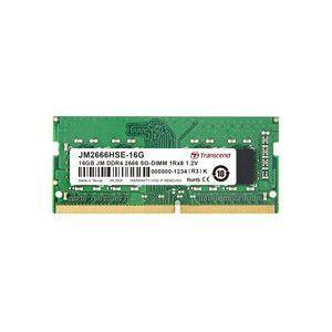 【メール便選択可】トランセンド Transcend 16GB JM DDR4 2666Mhz SO-DIMM 1Rx8 2Gx8 CL19 1.2V JM2666HSE-16G|akibaoo