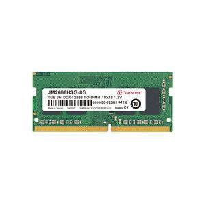 【メール便選択可】トランセンド JM2666HSG-8G ノートPC用メモリ JM DDR4 2666Mhz SO-DIMM 8GB|akibaoo