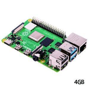 ラズベリー・パイ Raspberry Pi 4 Model B 4GB UK 187-4653 ラズパイ 技適マーク取得済|akibaoo