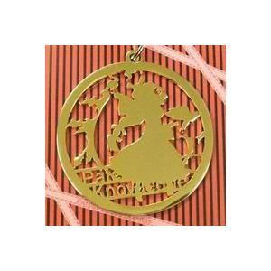 レーザカットキーホルダー パチュリー・ノーレッジ ( ライトゴールド ) 【いそため】|akibaoo