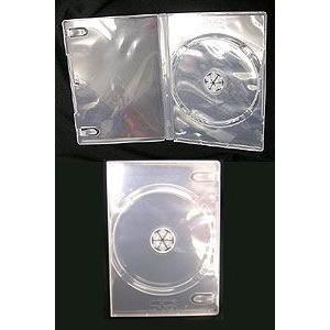 DVDトールケース クリア 1枚収納 アマレーサイズ|akibaoo