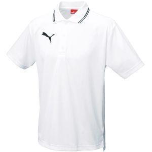 PUMA プーマ ライ入り 半袖ポロシャツ 97 ホワイト XL 864221|akibaoo