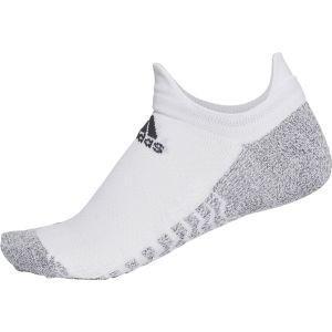アディダス adidas ALPHASKINグリップ ウルトラライト アンクルソックス WHT/BLK 28-30 ECG65 akibaoo