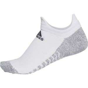 アディダス adidas ALPHASKINグリップ ウルトラライト アンクルソックス WHT/BLK 24-26 ECG65 akibaoo