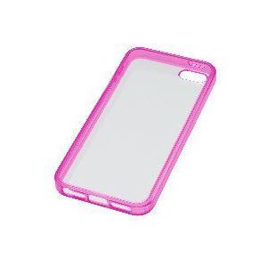 iPhone5s/5用ケース GH-CA-IP5PTCP(クリアピンク)|akibaoo