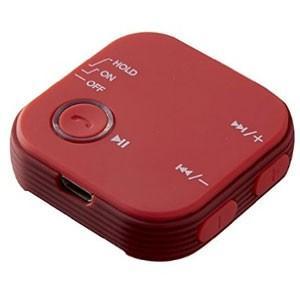 Bluetooth4.1 ワイヤレス オーディオレシーバー GH-BHRB-RD レッド|akibaoo