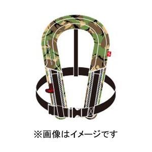 高階救命器具 Takashina ブルーストーム 小型船舶用救命胴衣 (国土交通省承認) TYPE-A グリーンカモ BSJ-8320RS|akibaoo