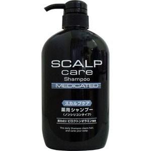 スカルプケア 薬用シャンプー ノンシリコンタイプ 600ml|akibaoo