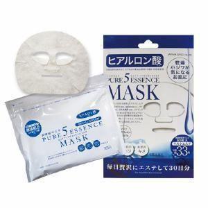 ピュアファイブエッセンスマスク(HY)30枚 ヒアルロン酸 JM-6563|akibaoo
