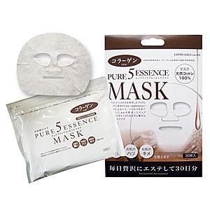 ピュアファイブエッセンスマスク(CO)30枚 コラーゲン JM-6570|akibaoo