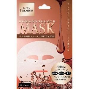ピュアファイブエッセンスマスク(CO)NEW 30枚 コラーゲン JM-10010|akibaoo