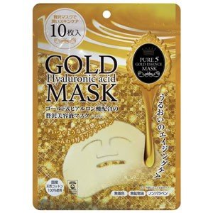 ピュア5ゴールドエッセンスマスク JM-10621 10枚入り|akibaoo