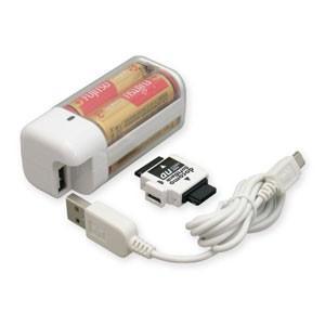 【B級品 パッケージ汚れ】電池4本交換式チャージャー TD36SW|akibaoo