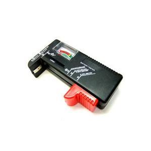 電池残量計「バッテリーチェッカー」 乾電池チェッカー ボタン電池 単1 2 3 4 5電池 角電池(006P)|akibaoo