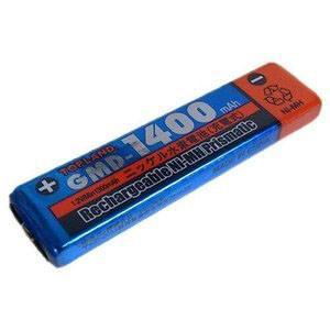 ガム電池 ニッケル水素1.2V 1400mA|akibaoo
