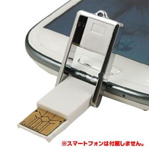 OTG対応USBホストアダプタ microUSBカードリーダー|akibaoo