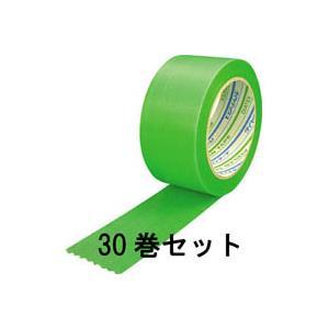 パイオラン養生用粘着テープ グリーン 50mmX25m 厚さ0.16mm【30巻】Y-09-GR|akibaoo